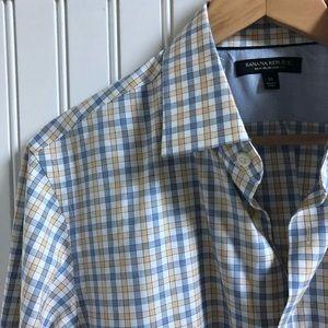 Ban Rep Grant Non Iron Slim Fit Shirt